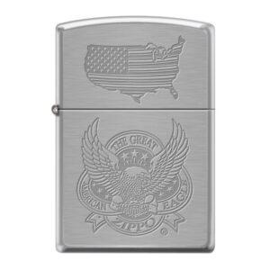 13943 zapalovac zippo 21922 the great american eagle
