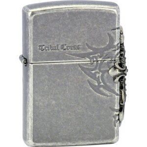 5375 2 zapalovac zippo 28159 tribal cross emblem
