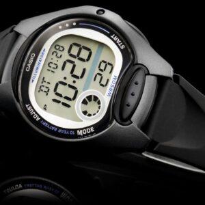 original Zegarek CASIO ANDELIA LCD Wielofunkcyjny LW 200 1BV 214371 0c20274c9e34