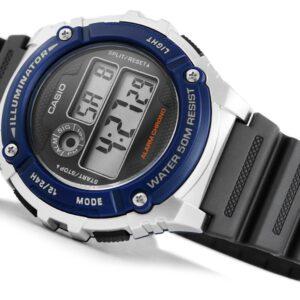 original Zegarek CASIO Wielofunkcyjny W 216 2A 228368 0c20274c9e34