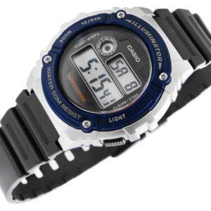 original Zegarek CASIO Wielofunkcyjny W 216 2A 228372 0c20274c9e34