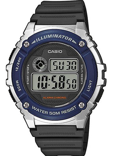 original Zegarek CASIO Wielofunkcyjny W 216H 2A 263396 0c20274c9e34