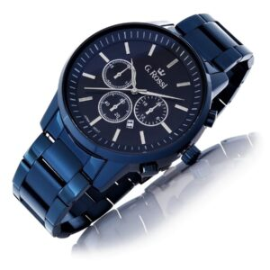 original Zegarek Meski Gino Rossi 6647B 6F1 236811 0c20274c9e34