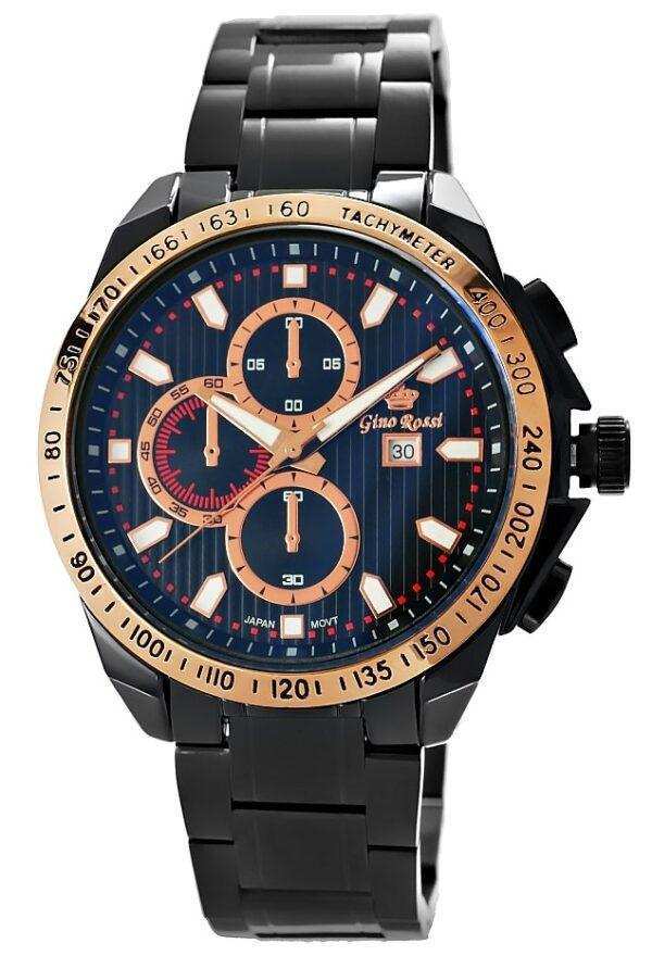 original Zegarek Meski Gino Rossi 9153B 6A1 274965 0c20274c9e34