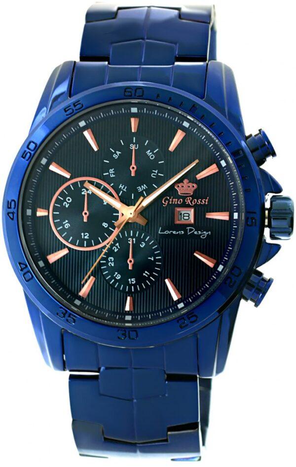 original Zegarek Meski Gino Rossi 9753B5 6F1 258429 0c20274c9e34