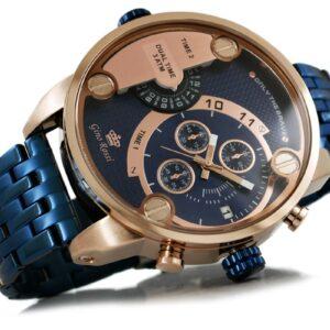 original Zegarek Meski Gino Rossi DUAL TIME 872B 673 238634 0c20274c9e34