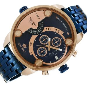original Zegarek Meski Gino Rossi DUAL TIME 872B 673 238636 0c20274c9e34