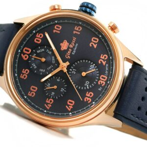 original Zegarek Meski Gino Rossi E CLUSIVE CHONOGRAF E11647A 6F3 239911 0c20274c9e34