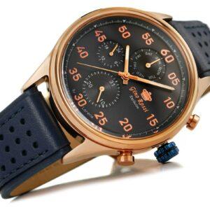original Zegarek Meski Gino Rossi E CLUSIVE CHONOGRAF E11647A 6F3 239912 0c20274c9e34