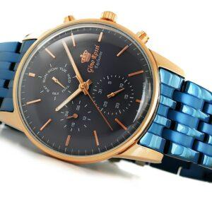 original Zegarek Meski Gino Rossi E CLUSIVE CHONOGRAF E12009B 6F3 239404 0c20274c9e34
