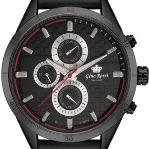 original Zegarek Meski Gino Rossi E clusive Chronograf E11444A 1A1 257720 0c20274c9e34