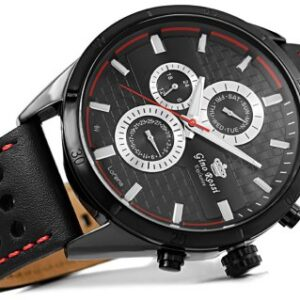 original Zegarek Meski Gino Rossi E clusive Chronograf E11444A 1A1 257724 0c20274c9e34