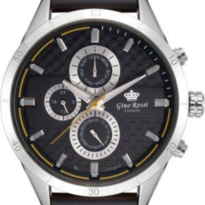 original Zegarek Meski Gino Rossi E clusive Chronograf E11444A 1A3 257735 0c20274c9e34