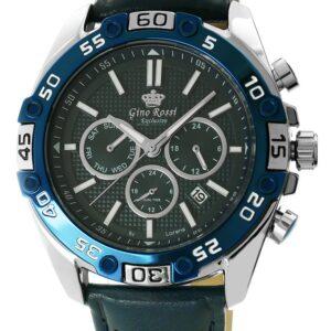 original Zegarek Meski Gino Rossi E clusive Chronograf E8754A2 6F3 258274 0c20274c9e34