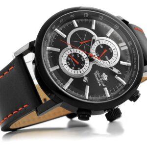 original Zegarek Meski Gino Rossi STALOWY PREMIUM DUKAN S520A 1A3 225853 0c20274c9e34