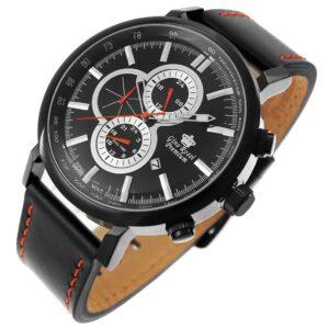 original Zegarek Meski Gino Rossi STALOWY PREMIUM DUKAN S520A 1A3 225854 0c20274c9e34