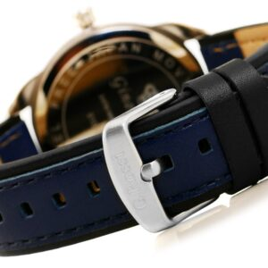 original Zegarek Meski Gino Rossi SWEDOR E CLUSIVE CHONOGRAF E10538A 6F1 232727 0c20274c9e34