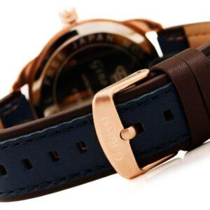 original Zegarek Meski Gino Rossi SWEDOR E CLUSIVE CHONOGRAF E10538A 6F3 232734 0c20274c9e34