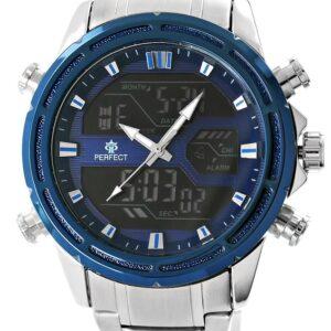 original Zegarek Meski Perfect A8027 1 Fluorescencja i iluminacja 267118 0c20274c9e34