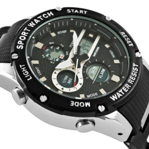 original Zegarek Meski Perfect A8031 1 Dual Time Fluorescencja 275025 0c20274c9e34