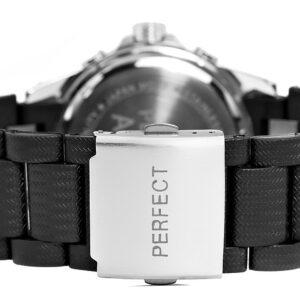 original Zegarek Meski Perfect A8031 1 Dual Time Fluorescencja 275027 0c20274c9e34