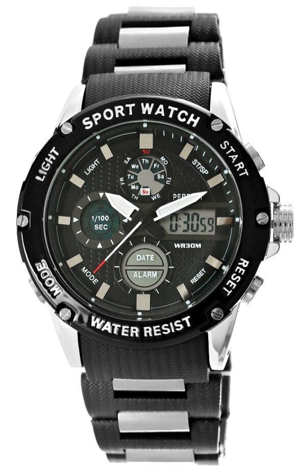 original Zegarek Meski Perfect A8031 4 Dual Time Fluorescencja 275028 0c20274c9e34